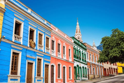 Colombia's colourful bogota