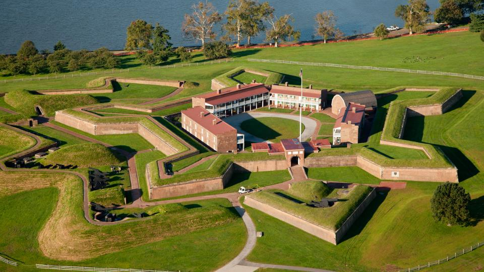 Fort McHenry National Monument and Historic Shrine Aerial