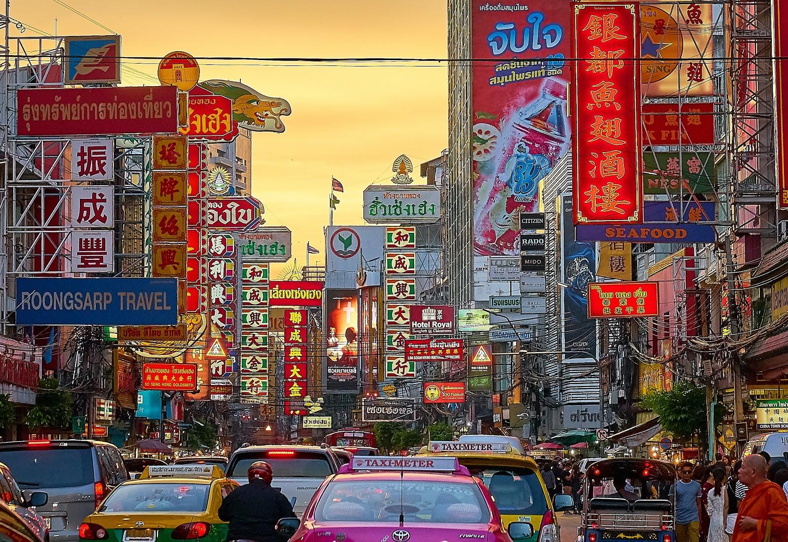 Thailand urban style