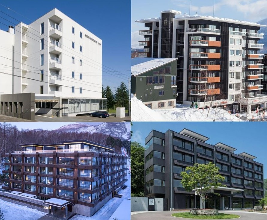 Niseko Luxury Buildings over Time
