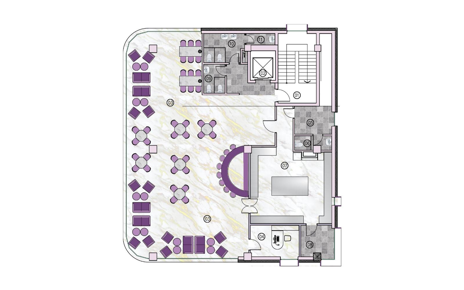Oasis Galleria - Layout F4