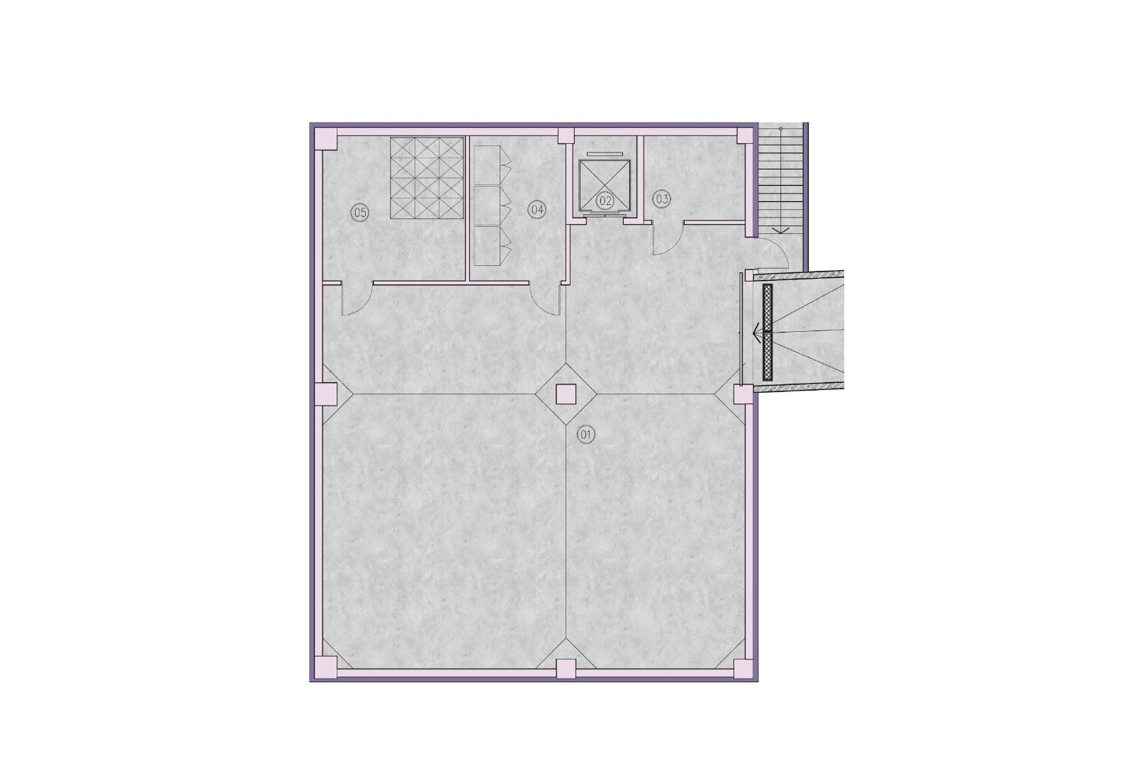 Oasis Galleria - layout B1