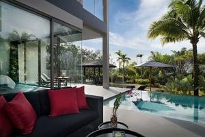 Pavilions Phuket - Villa 1 - Outdoor Furniture and Pool-1