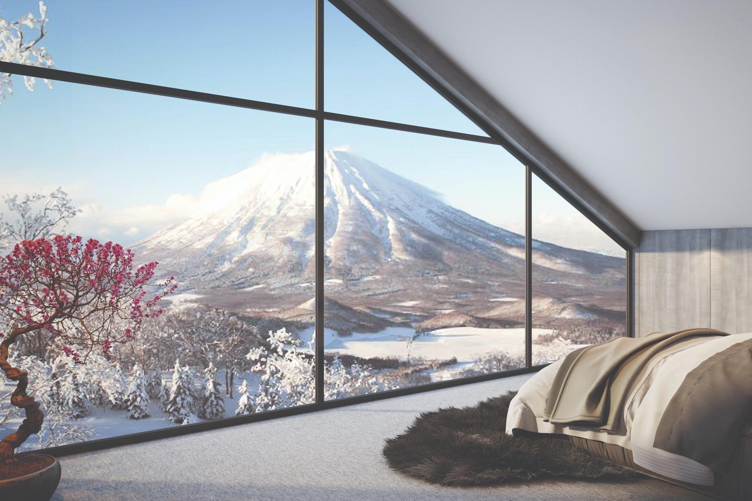 View of Niseko Landscape