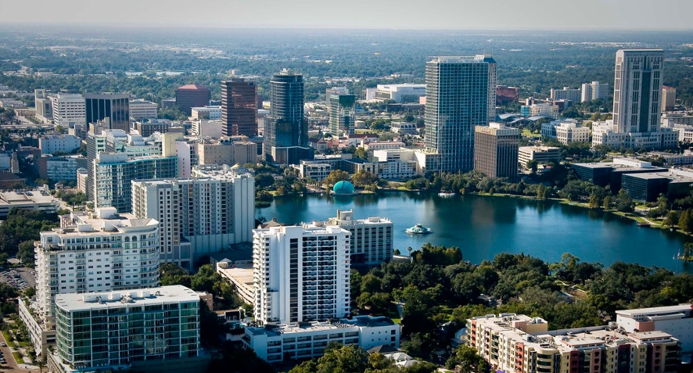 Downtown-Orlando-Aerial-view-1