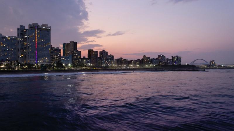 North Beach Pier, Durban, South Africa