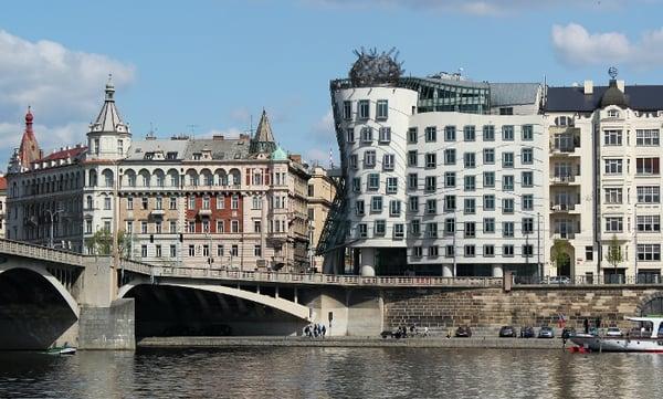 dancing house , czech republic