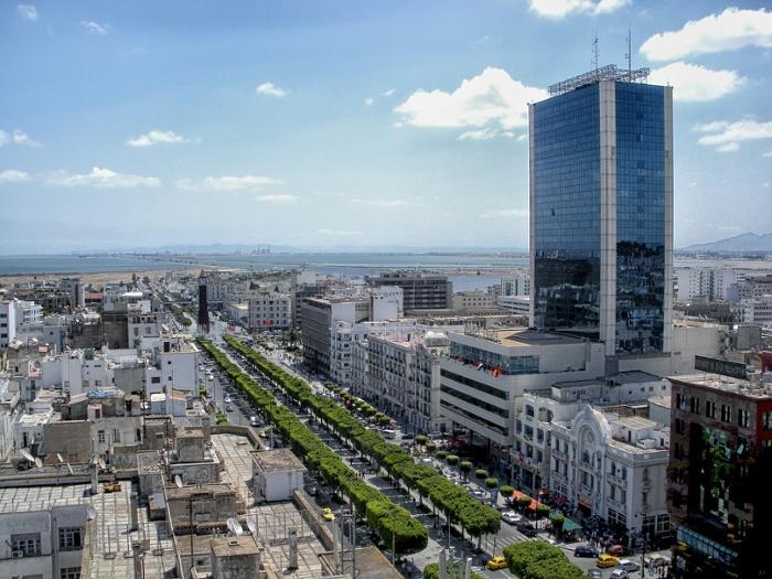 tunisia cityscape