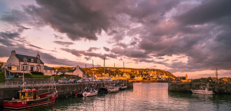Portpatrick, Dumfries and Galloway, Scotland, UK