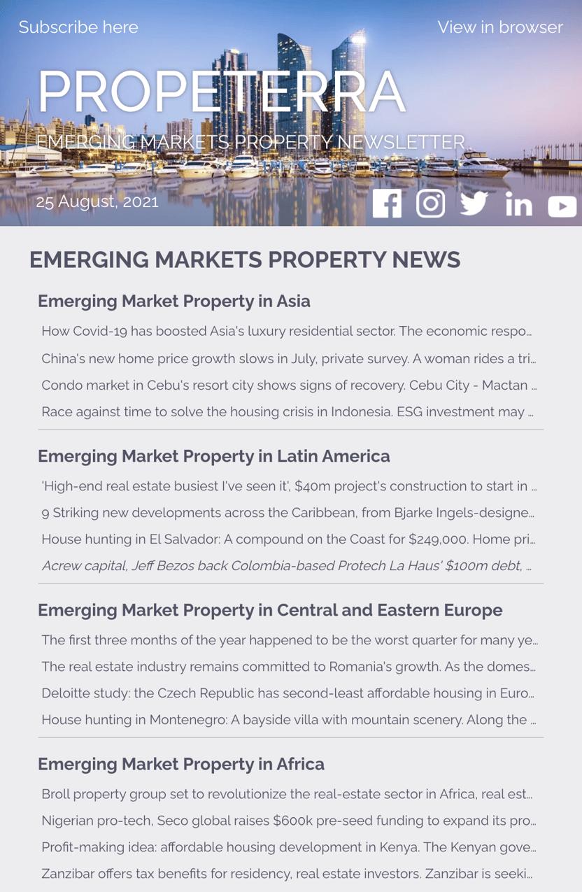 EM Property Newsletter August